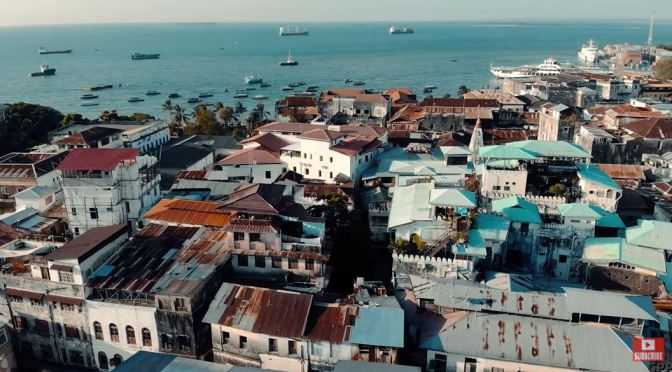Aerial Views: The Cities & Landscapes Of Tanzania