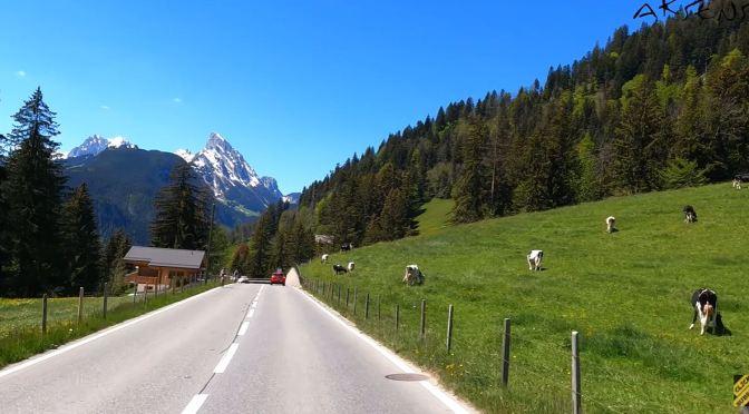 Alpine Drives: Zweisimmen To Gstaad, Switzerland