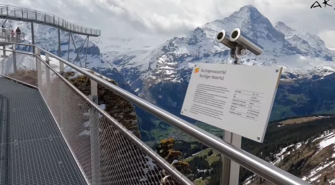Cliff Walks: Grindelwald – Switzerland (5K Video)