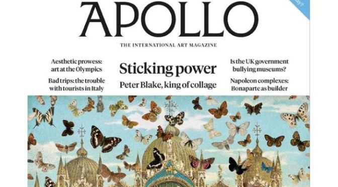 International Art: Apollo Magazine – June 2021