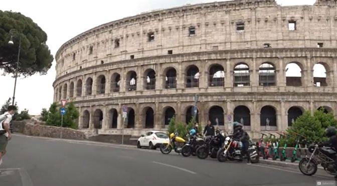 Morning Drives: Central Rome – Italy (4K Video)