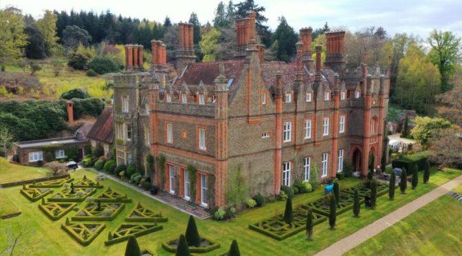 Country Estates: Albury Park Mansion In Surrey Hills, Southeast England