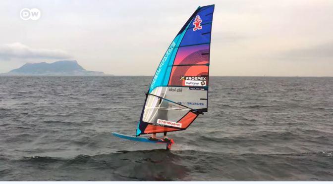 Water Sports: Hydrofoil Windsurfing In Spain