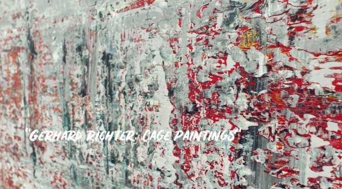 Art Exhibitions: 'Gerhard Richter – Cage Paintings'
