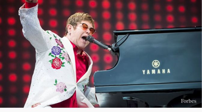 Music: Elton John Went From Rockets To Riches