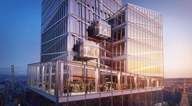 High Views: Glass Elevator Added To NYC Skyscraper