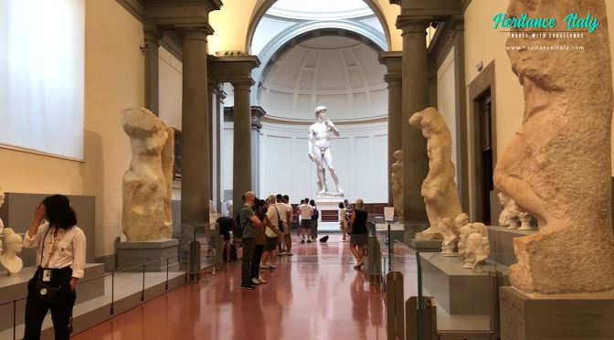 Museum Tour: Accademia Gallery, Florence, Italy