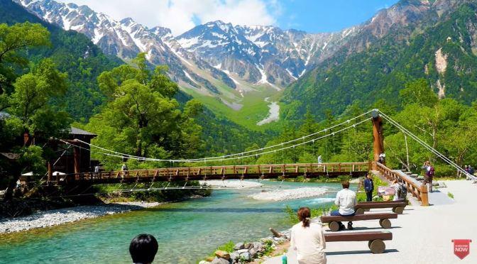River Walks: Kamikochi Valley, Central Japan (4K)