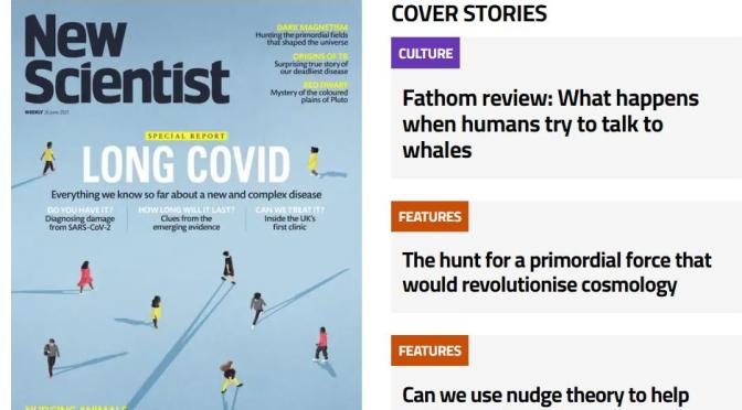 Top Magazine Issues: New Scientist – June 26, 2021