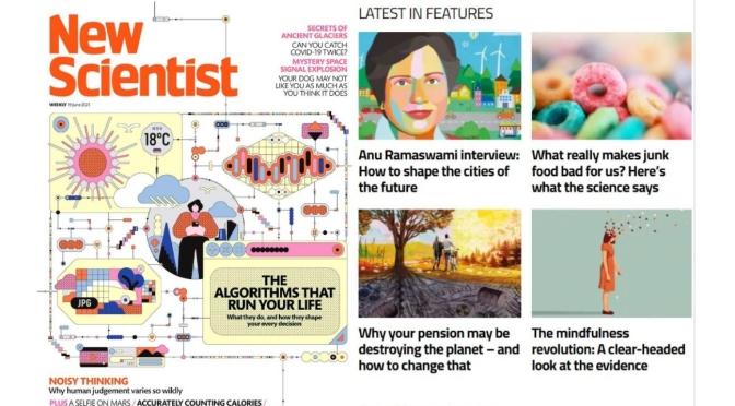 Magazine Vews: 'New Scientist' – June 19, 2021