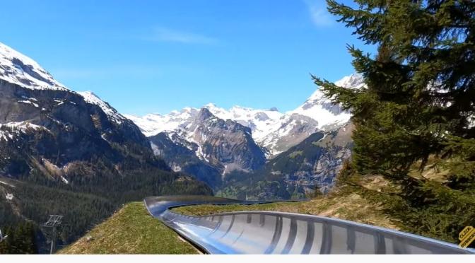 Swiss Views: Coaster Ride In Oeschinensee (5K Video)