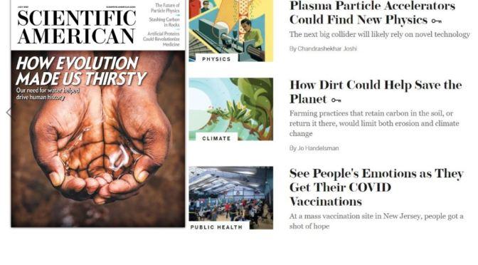 Magazines: Scientific American – July 2021