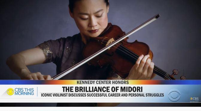 Musical Profile: Violin Virtuoso Midori Honored