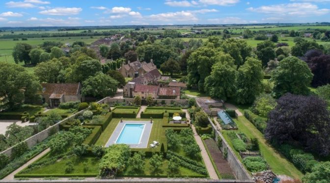 English Country Estates: 'Tormarton Court' In Badminton, Cotswolds