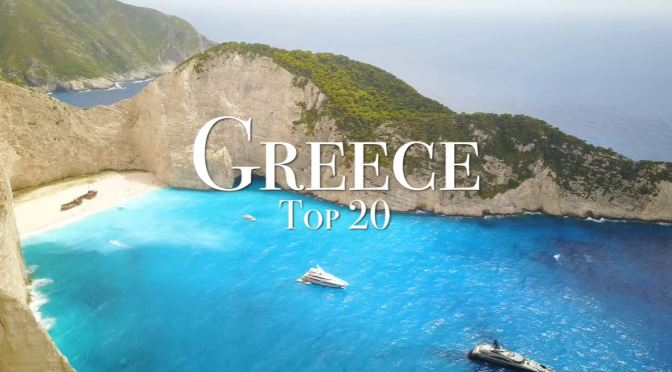 Travel Tour: Top 20 Places To Visit In Greece (4K)