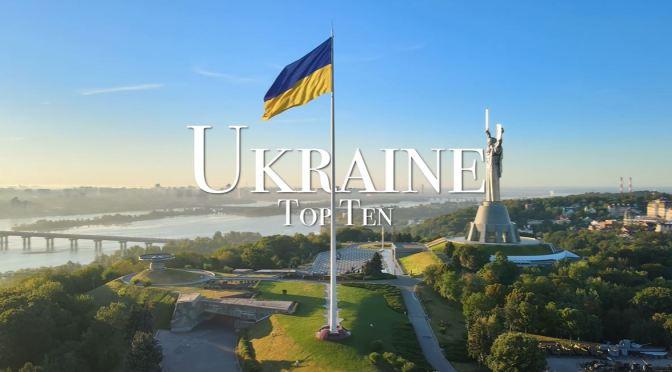 Travel Tour: Top 10 Places To Visit In Ukraine (4K)
