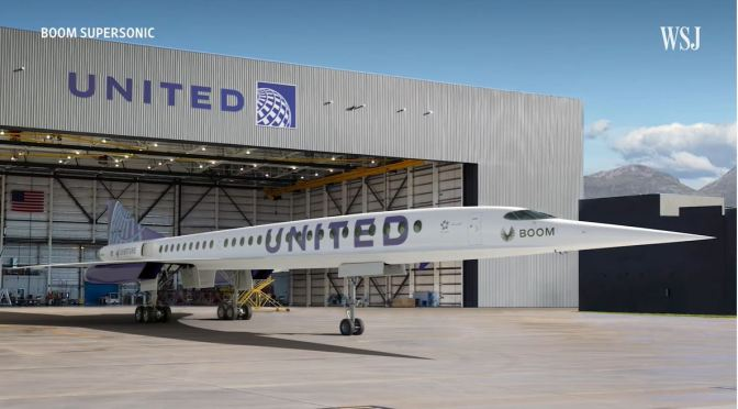Analysis: United Airline's Bet On Supersonic Flight