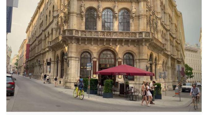Walks: The Vienna Opera House To Café Central (4K)