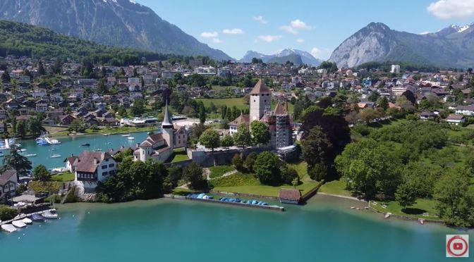 Views: Spiez Castle In Switzerland (4K Video)