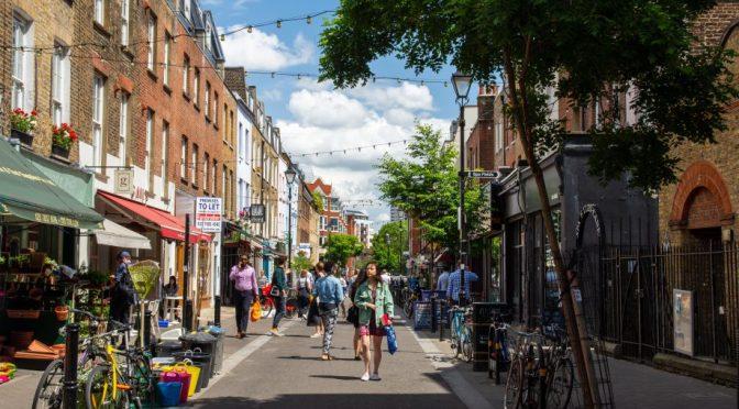 Village View: Clerkenwell In Northern London