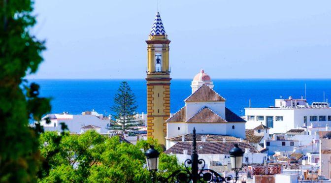 Beach City Walk: Estepona In Andalusia, Spain (4K)