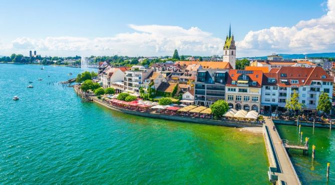 Walks: Friedrichshafen – Bodensee, Germany (4K)