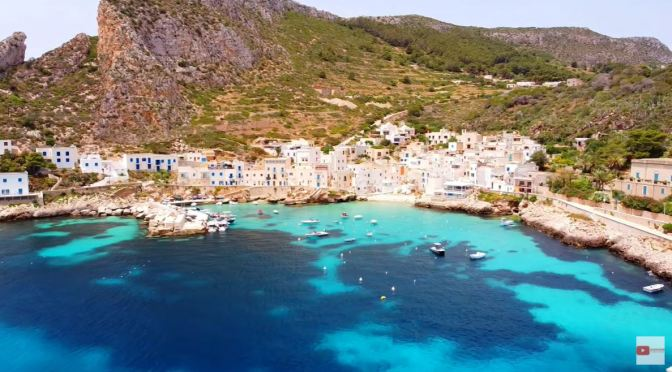 Walks: Levanzo Island, Sicily, Italy (4K Video)