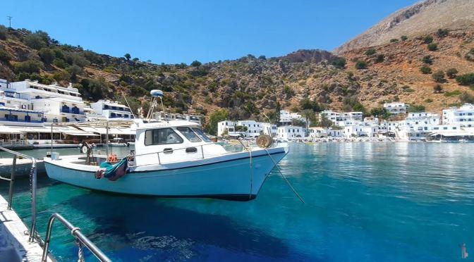 Walking Tour: Loutro – Island Of Crete, Greece