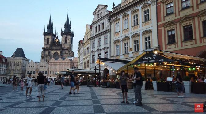 Old Town Walks: Prague – Czech Republic (4K Video)