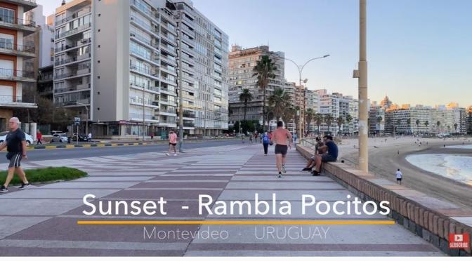 Walks: Rambla Pocitos – Montevideo, Uruguay