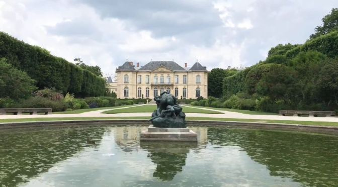 Views: Rodin Museum In Paris Reopens (HD Video)