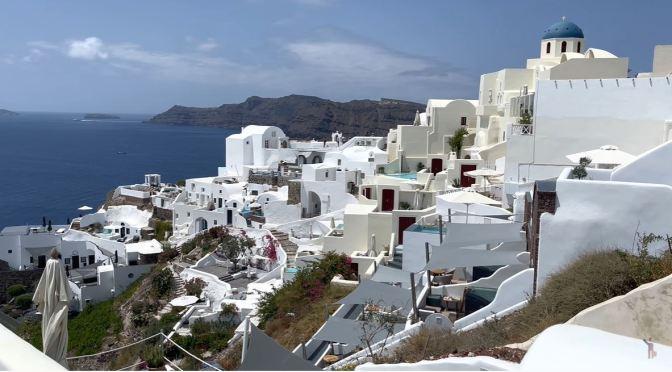 Walking Tour: Island Of Santorini, Greece (4k)