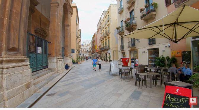 Walking Tour: Trapani – Island Of Sicily (4K Video)