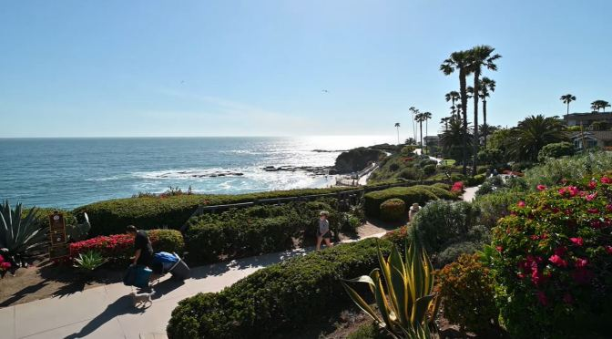 California Walk: Treasure Island Park, Laguna Beach