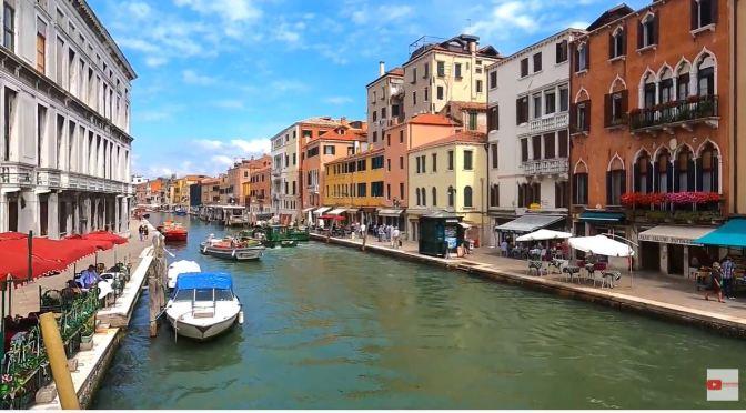 Walks: Cannaregio Area Of Venice, Italy (4K Video)