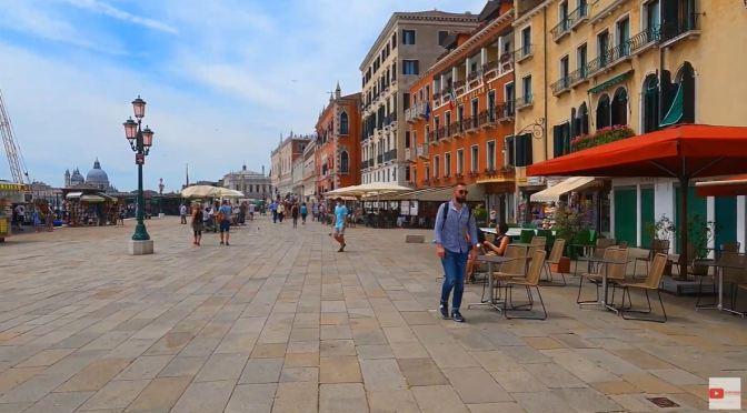 Walking Tours: San Marco Quarter In Venice (4K)