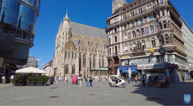 Walking Tour: Central Vienna, Austria (4K Video)