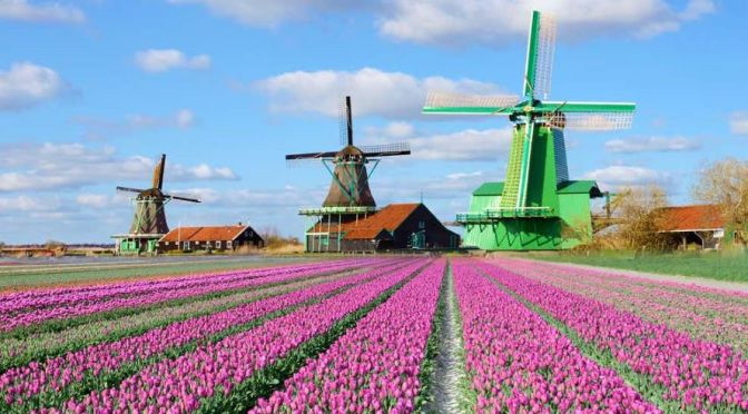 Windmill Walks: Zaanse Schans – Netherlands (4K)