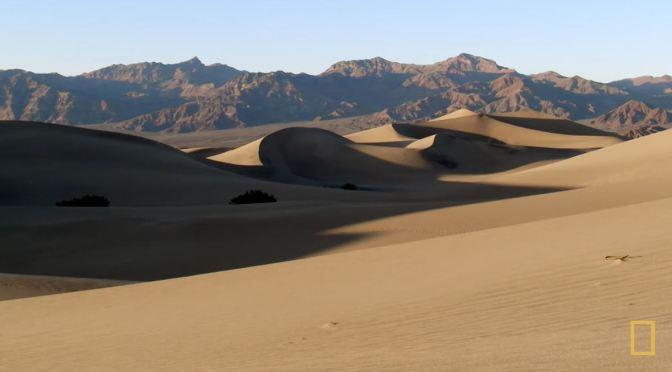 Desert Views: Death Valley Eastern California (Video)