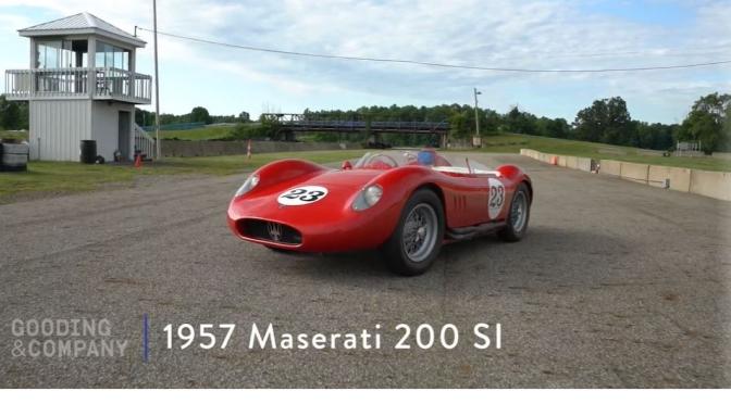 Italian Racing Cars: 1957 Maserati 200 SI (Video)