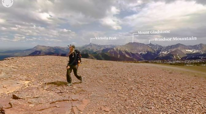 360° Hikes: Table Mountain In  Alberta, Canada (Video)