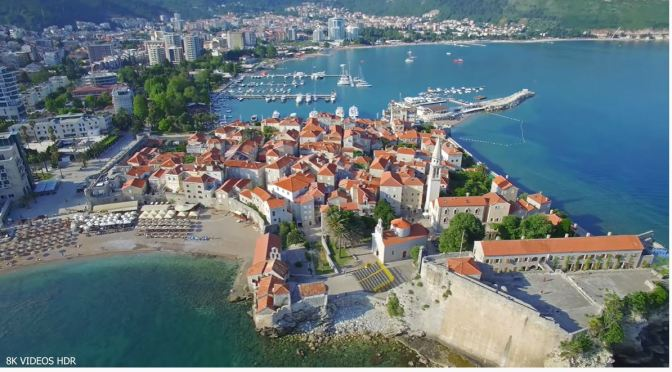 8K Views: Landscapes & Cities Of Montenegro