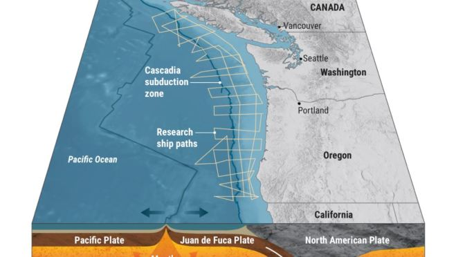 Science: What A 'Mega' Earthquake In The Pacific Northwest Will Look Like