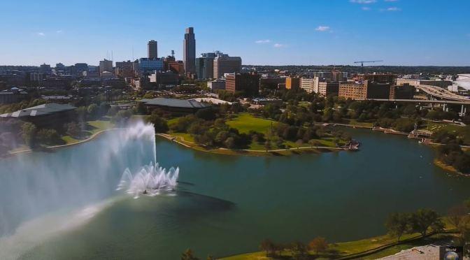 Aerial City Views: Omaha – Eastern Nebraska (4K)