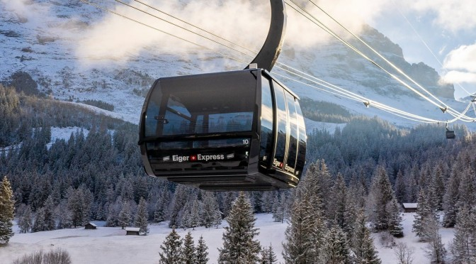 Swiss Views: 'Eiger Express' Cable Car – Grindelwald