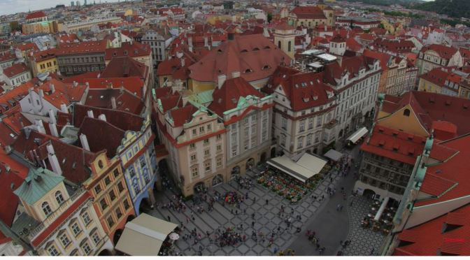 Aerial City Views: Prague – Czech Republic (4K Video)