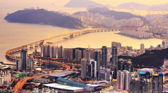Aerial City Views: Busan – South Korea (4K Video)