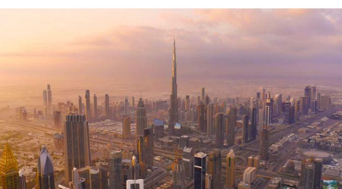 Aerial City Views: Dubai – United Arab Emirates (4K)
