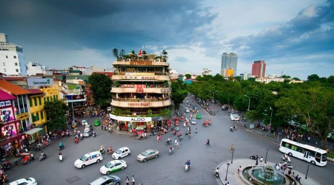 Aerial City Views: Hanoi – Capital Of Vietnam (4K)