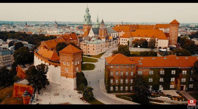 Aerial Views: Kraków – Southern Poland (4K)